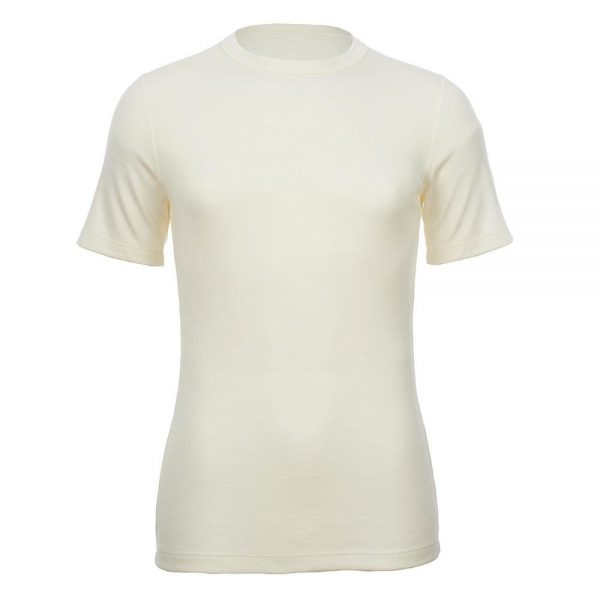 Unisex Merino Skins Short Sleeve Crew Neck