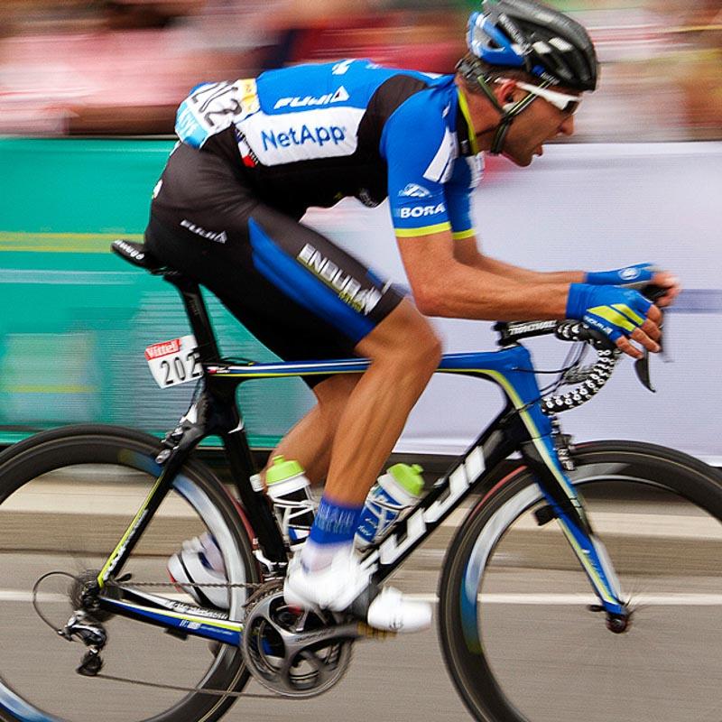 cyclist at Tour de France
