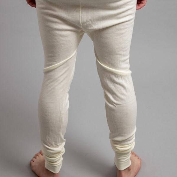 Rear view of Thermo Fleece – Men's Long John – 100% Merino Wool