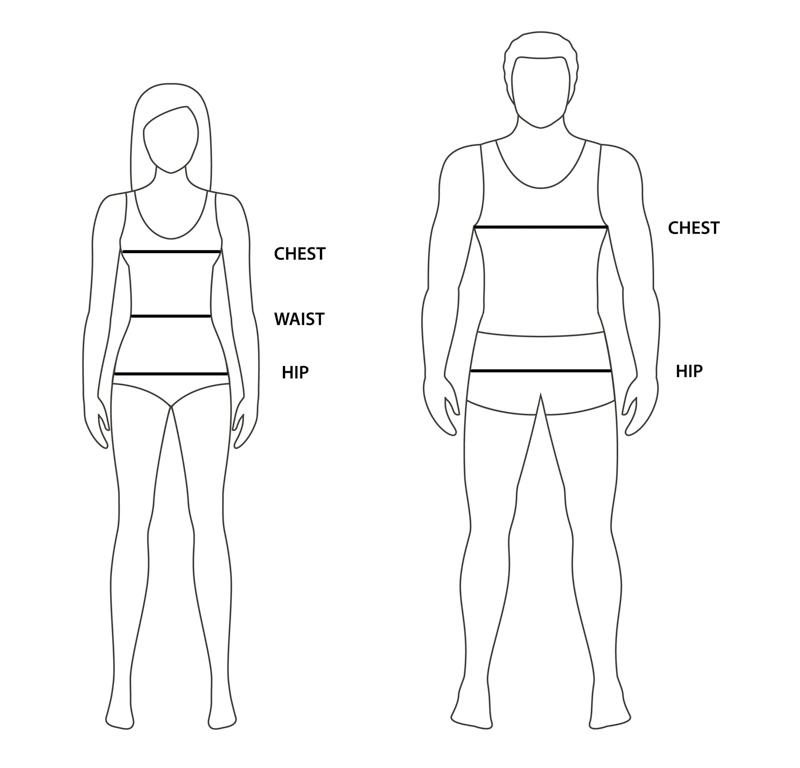 garment body measurements fitting guide